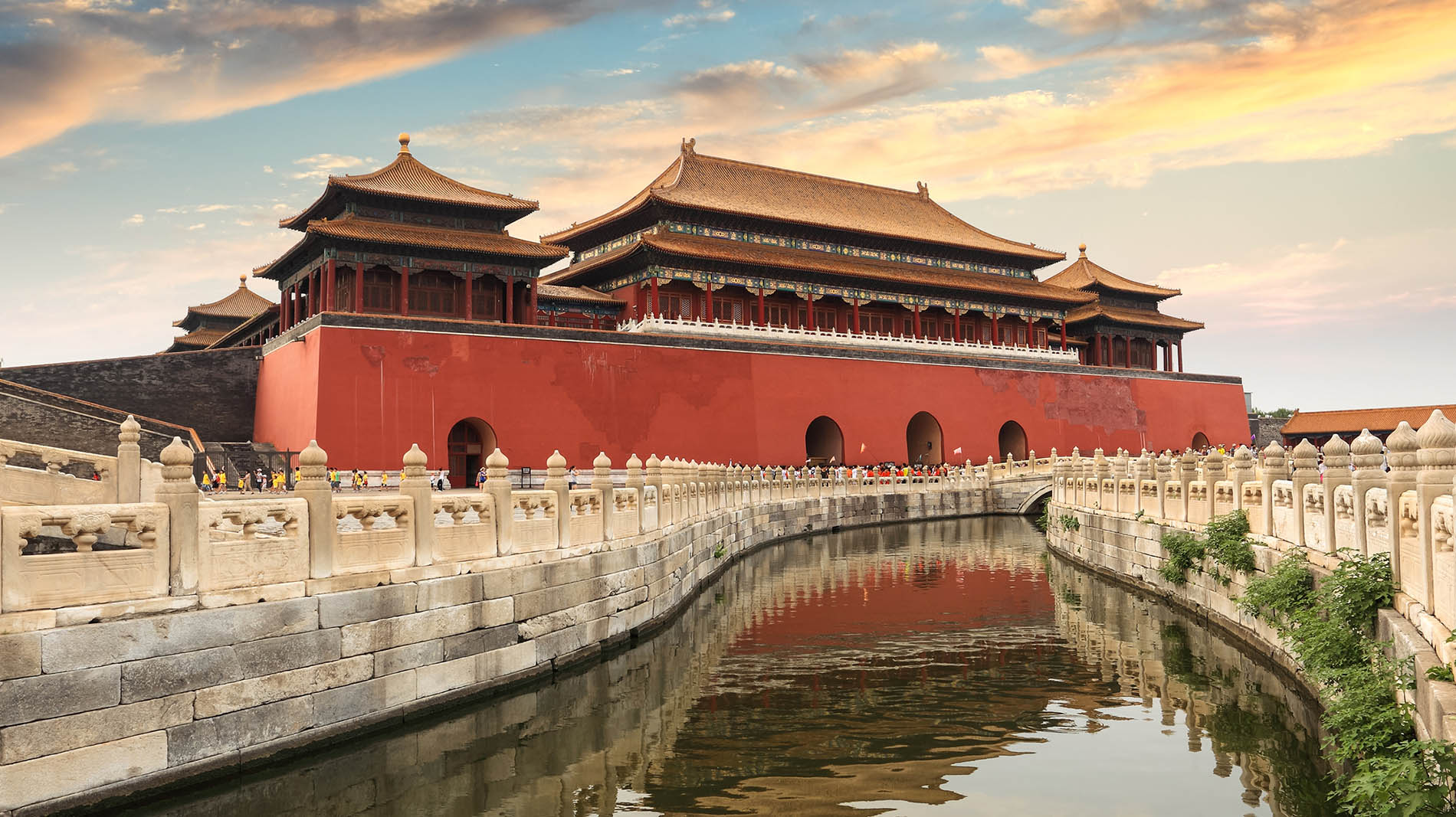Forbidden City~Step back in time to the Ming and Qing dynasties (1368 - 1911). The Imperial Palace, nearly double the size of the Vatican, is the largest palace in the world.
