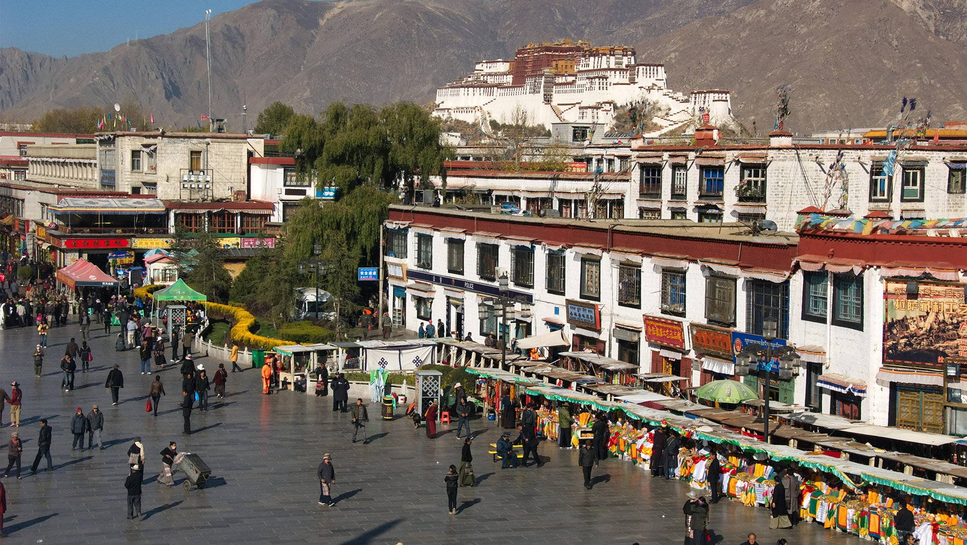 Barkhor Market~Shuffle through this bustling market with thousands of locals and pilgrims.